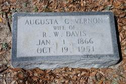 "Augusta Caroline ""Carrie"" <I>Vernon</I> Davis"