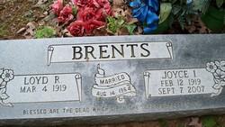 Joyce Irene <I>Sauls</I> Brents