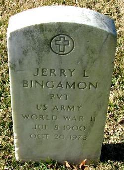 Jerry L Bingamon