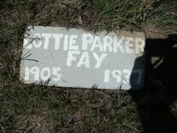 Lottie <I>Parker</I> Fay