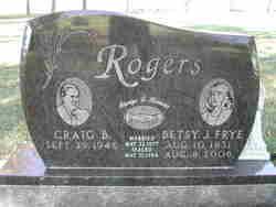 Betsy J. Frye Rogers
