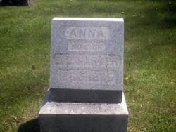 Anna Elizabeth <I>Weller</I> Harker