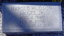 Harold Hudson McGee, Jr