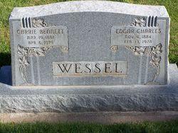 Carrie <I>Bennett</I> Wessel