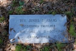 Rev Junius Jackson Adams Sr.