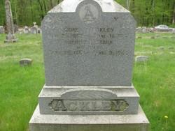 Harriet L <I>Stark</I> Ackley