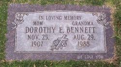 Dorothy E. Bennett