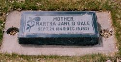 Martha Jane <I>Black</I> Gale