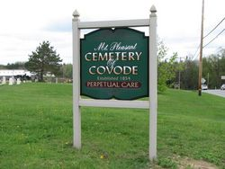 Mount Pleasant Cemetery of Covode