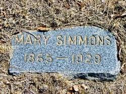 Mary Ann <I>Stevick</I> Simmons