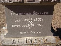 Friederich Behnken