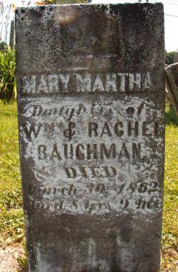 Mary Martha Baughman