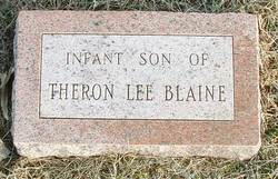 Infant Son Blaine
