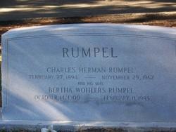 Bertha <I>Wohlers</I> Rumpel