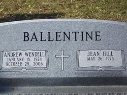 Andrew Wendell Ballentine