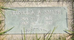 Eusebia Ann <I>Hunter</I> Smith