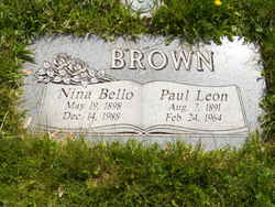 Paul Leon Brown, Sr