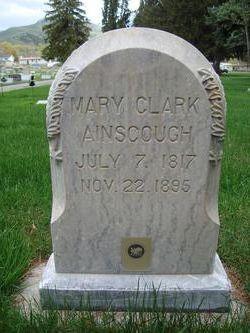Mary <I>Clark</I> Ainscough