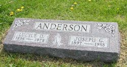 "Lucile Delena ""Lucy"" <I>Snyder</I> Anderson"