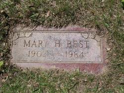 Mary H <I>Sutts</I> Best