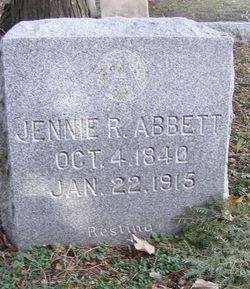 Jennie R Abbett