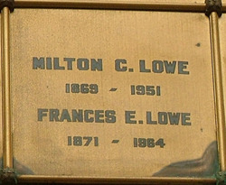 Frances E Lowe