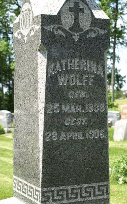 Catherine <I>Kleckner</I> Wolff