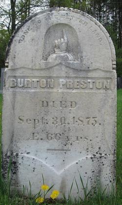 Burton Preston