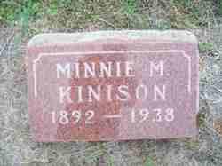 Minnie M Kinison