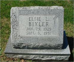 Elsie L. <I>Wesley</I> Bixler