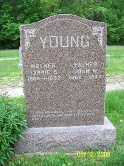 Fannie S. <I>Moutrey</I> Young