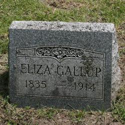 Eliza Sophia <I>Spaulding</I> Gallup