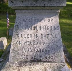 Capt William W. Hutchins