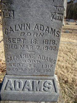 Catharine <I>Granger</I> Adams