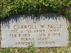 Frank Carroll W Falls