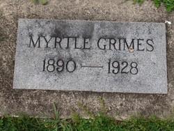 Myrtle <I>Moore</I> Grimes