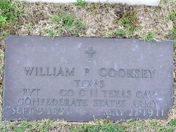 William P Cooksey