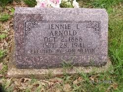 Jennie L <I>Capshaw</I> Arnold