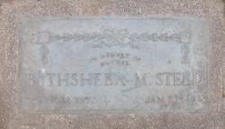 Bathsheba Bigler <I>Miller</I> Steed