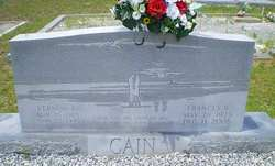 Frances <I>Bagwell</I> Cain