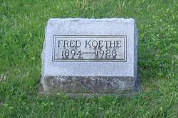 """Fred """"John"""" Koethe"""