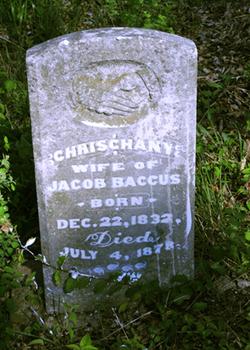 """Chrischany """"Christa Ann"""" <I>Crenshaw</I> Baccus"""