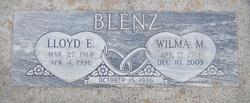 Lloyd E Blenz