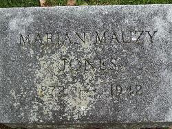 Marian <I>Mauzy</I> Jones
