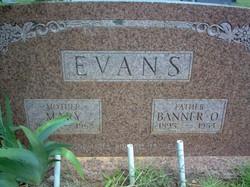 Mary <I>Coalson</I> Evans