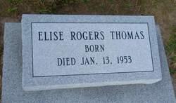 Elise <I>Rogers</I> Thomas