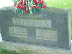 """James Thomas """"Tomie"""" Stephens"""