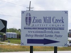 Zion Mill Creek Baptist Church Cemetery