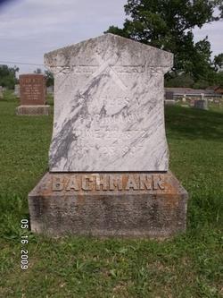 Charles August Bachmann