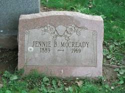 Jennie <I>Foulkrod</I> McCready